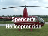Click the image above to see pics from Spencer's helicopter ride