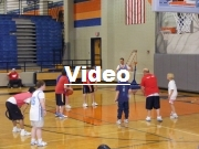 Click the image above to see a video of the basketball game with the McKinney Special Needs Kids