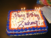 Click the image above to see the Pictures from Zachary's Birthday