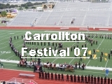 Click the image above to see the pictures from the Carrollton Marching Festival