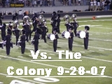 Click the image above to see photos from the game with The Colony