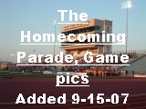 Click the image above to see the Homecoming game and parade pics