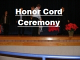 Click the image above to see a few pics of the Honor Cord Ceremony
