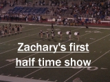 Click the image above to see Zachary's first half time performance of '07