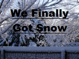Click the image above to see the snow we got Mar 4th, 2008