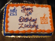 Click the image above to see pictures from Zachary's 16th Birthday