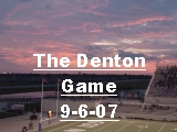 Click the image above to see pics of the Denton game