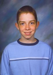 Spencer's school picture with his new hair