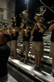 Playing the Fight Song (the one with the brace)